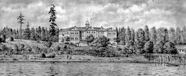 In 1939, Indian Affairs officials recommended that Kuper Island school staff suspected of sexually abusing students leave the province, allowing them to avoid prosecution. British Columbia Archives, pdp05505.